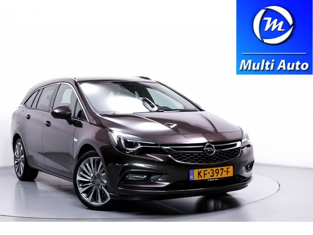 Opel Astra 1.4 Innovation 1e Eigenaar 69dKM! Innovation+ IntelliLink Leder en Stoelen Pakket! Navi Botswaarschuwing Rijstrooksensor LED ECC LMV PDC